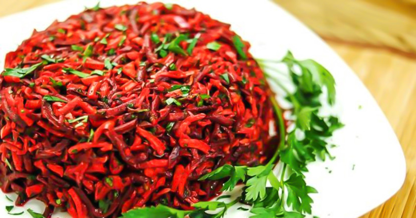 Как сделать похудела салат