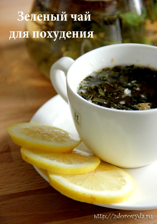 зеленый чай для похудения название