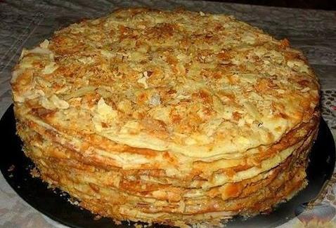 Торт из сухофруктов и орехов фото 1