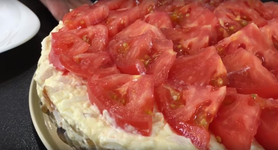 Рецепт салата который тает во рту