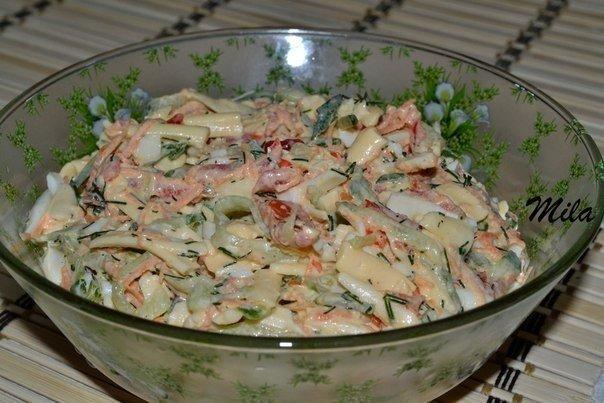 Салат в домашних условиях простой рецепт