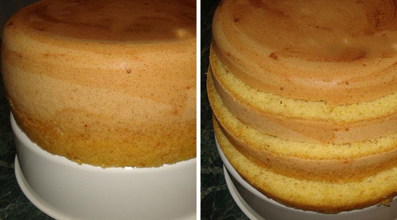 Простой рецепт бисквита в духовке 10