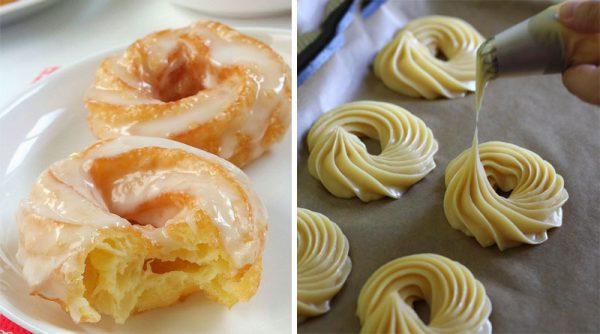 как делать белую глазурь для заварных пироженных