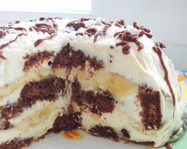 простой, но вкусный торт