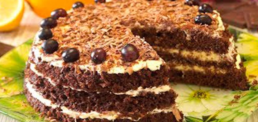 Быстрый торт за 15 минут