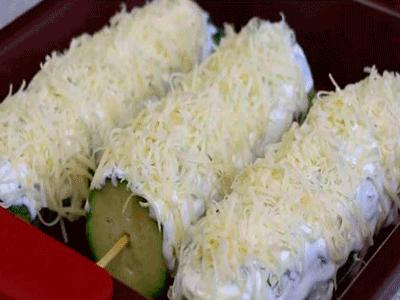 Шашлычки из кабачков