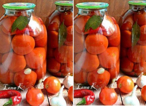 Замечательный рецепт маринованных помидоров с лимонной кислотой