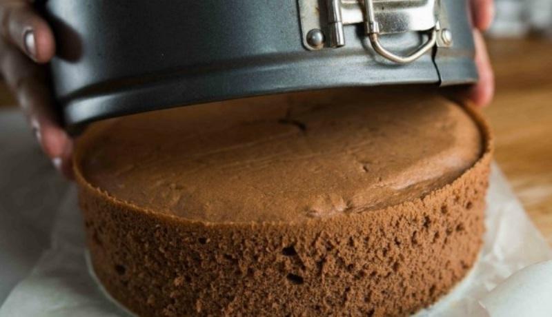 как приготовить шоколадный бисквит в кручке?