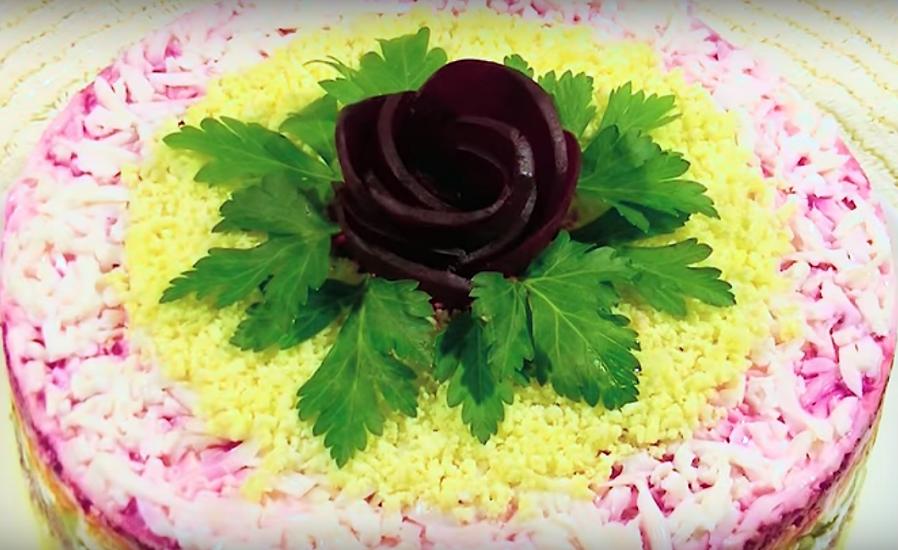 Безумно вкусный салат «Восхищение»