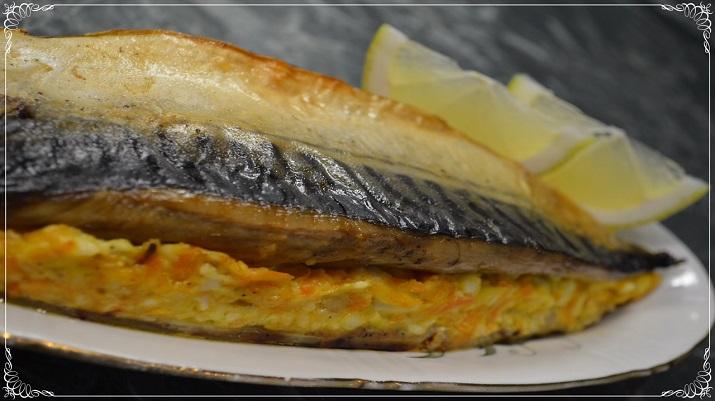 Лайфхак: Лучший рецепт фаршированной скумбрии, запеченной в духовке