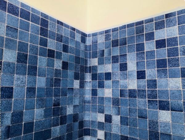 Как получилось недорого сделать стены в ванной комнате. Этот вариант подойдет тем, кто хочет сэкономить на ремонте
